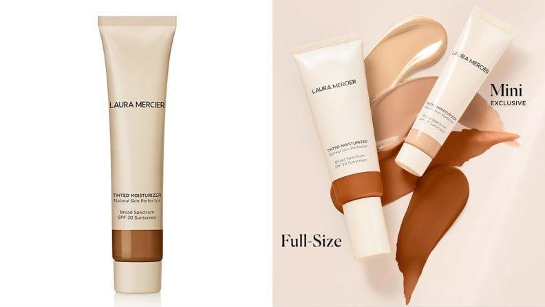 This Laura Mercier star skin product gives you a natural glow--while staying safe.