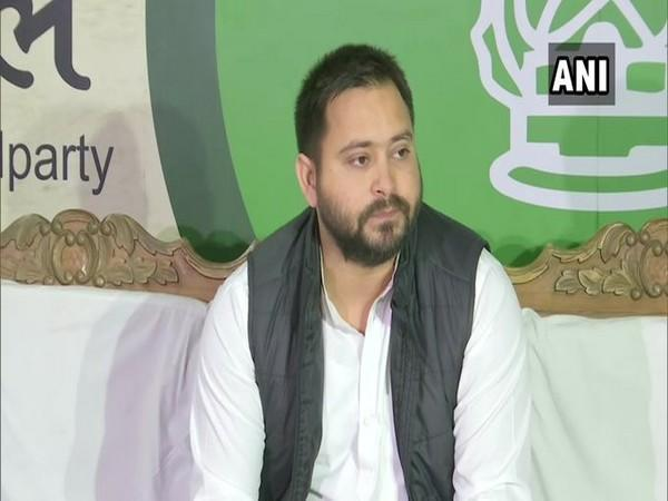 ashtriya Janata Dal (RJD) leader Tejashwi Yadav (Photo/ANI)