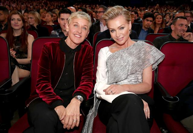 Ellen DeGeneres and Portia de Rossi are still going strong. (Photo: Getty Images)