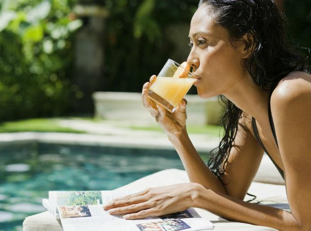 <b>Hangover food 8: Fruit juice</b><br><br>If you're feeling a bit queasy at the thought of food, then this is the cure for you. While it's great to line your stomach with food if you can, to replace lost vitamins, raise blood sugar levels and rehydrate your body, you can't do much better than a glass of fresh juice. Not only is juice good for immediate relief, the fructose will also help speed up the removal of alcohol from your blood.