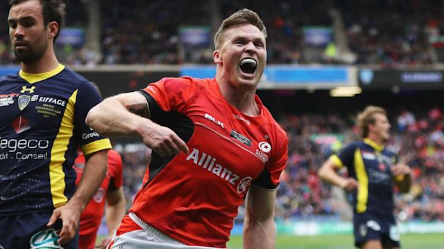 Murrayfield played host to a thrilling European Champions Cup final as Saracens retained their title by beating Clermont Auvergne.