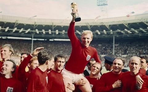 England went on to win the tournament - Credit: Rolls Press/Popperfoto