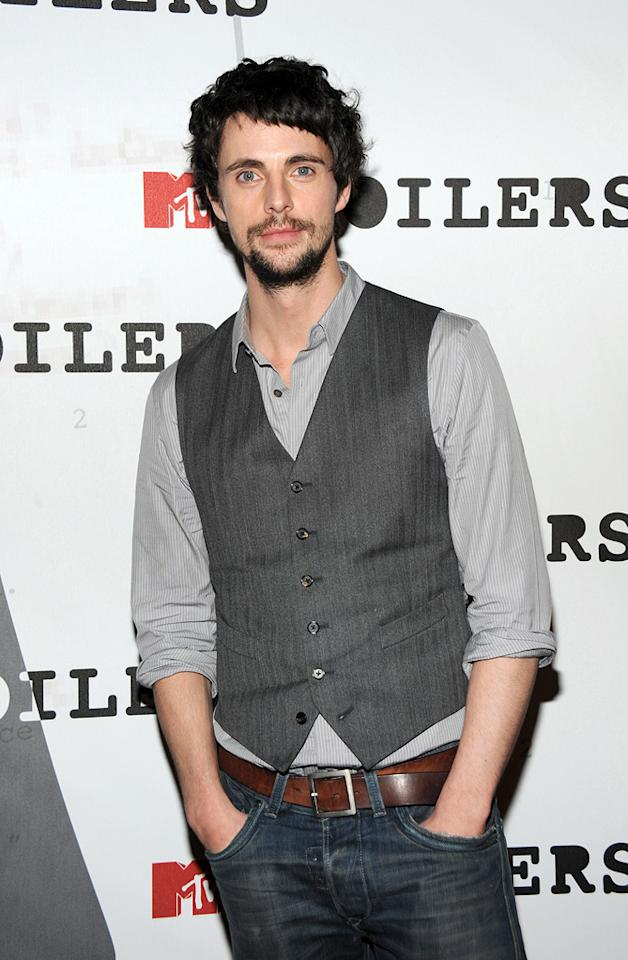 """<a href=""""http://movies.yahoo.com/movie/contributor/1807850193"""">Matthew Goode</a> at the MTV screening party for <a href=""""http://movies.yahoo.com/movie/1808406490/info"""">Watchmen</a> in West Hollywood - 02/18/2009"""