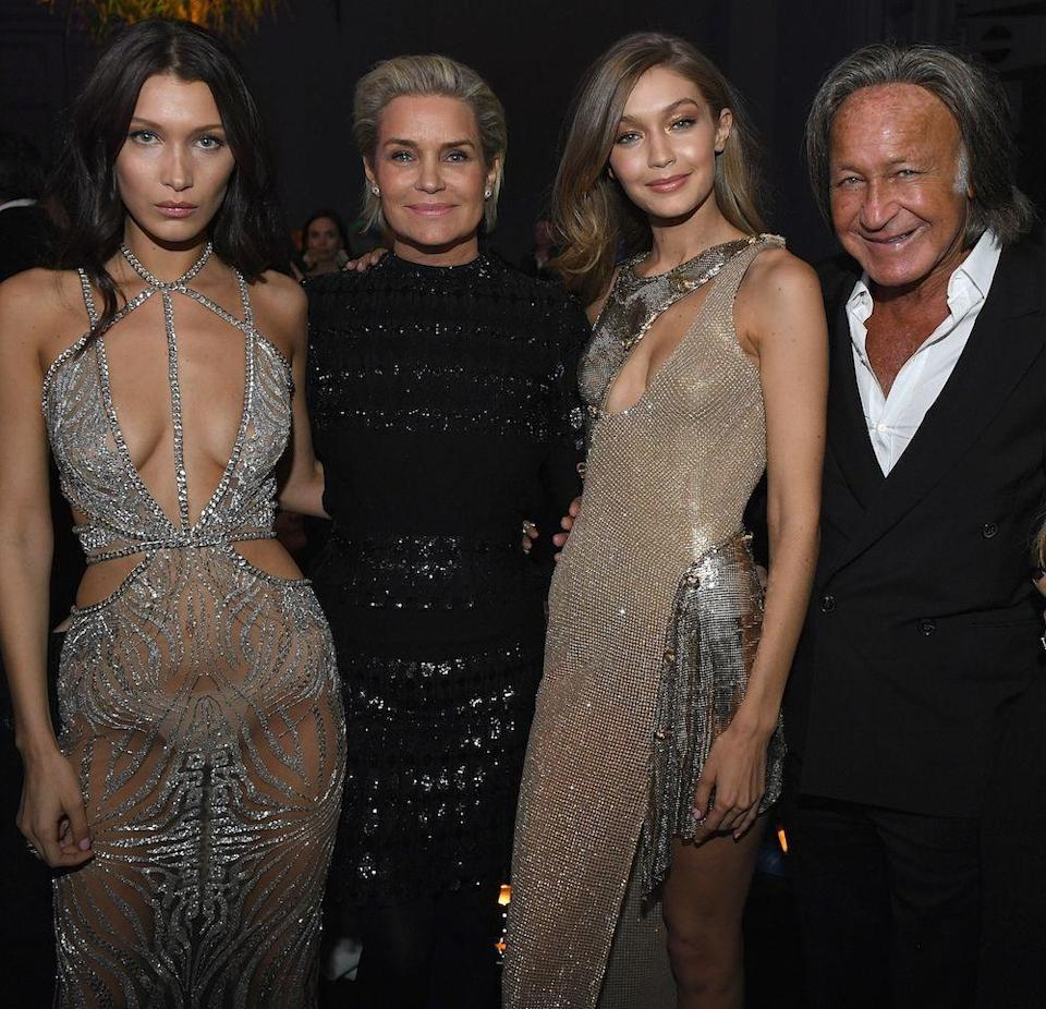 """<p><strong>Famous parent(s)</strong>: model Yolanda Foster and real-estate developer Anwar Hadid <br><strong>What it was like</strong>: """"I think the biggest thing that my mom did for my career was make me wait until I was 17 to sign to an agency,"""" Gigi has <a href=""""https://www.youtube.com/watch?v=eQoDgXset1s"""" rel=""""nofollow noopener"""" target=""""_blank"""" data-ylk=""""slk:said"""" class=""""link rapid-noclick-resp"""">said</a>. """"That was really big for me because, obviously when I was younger, I was really ambitious and wanted to work through school, but being able to pay attention to my sports, go through school and know myself before I was in the industry that can be very judgmental, was the best thing that she could have done.""""</p>"""