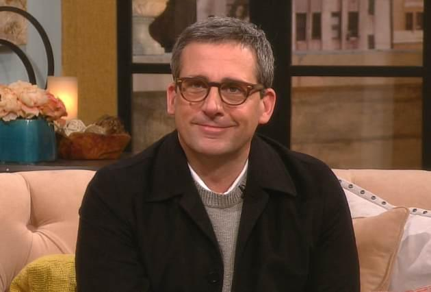 Steve Carell visits Access Hollywood Live on March 8, 2013 -- Access Hollywood