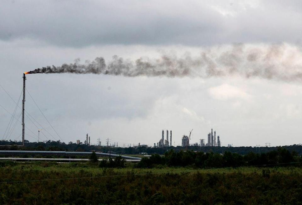 An upcoming UN report is set to emphasize the importance of addressing the potent pollutant gas, methane  (AFP via Getty Images)