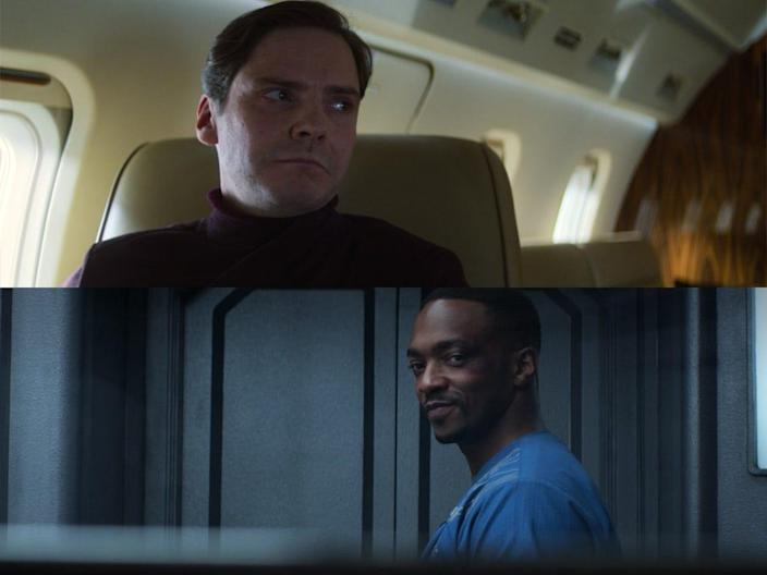 the falcon and the winter soldier 103 detail zemo sam jail cell callback captain america civil war