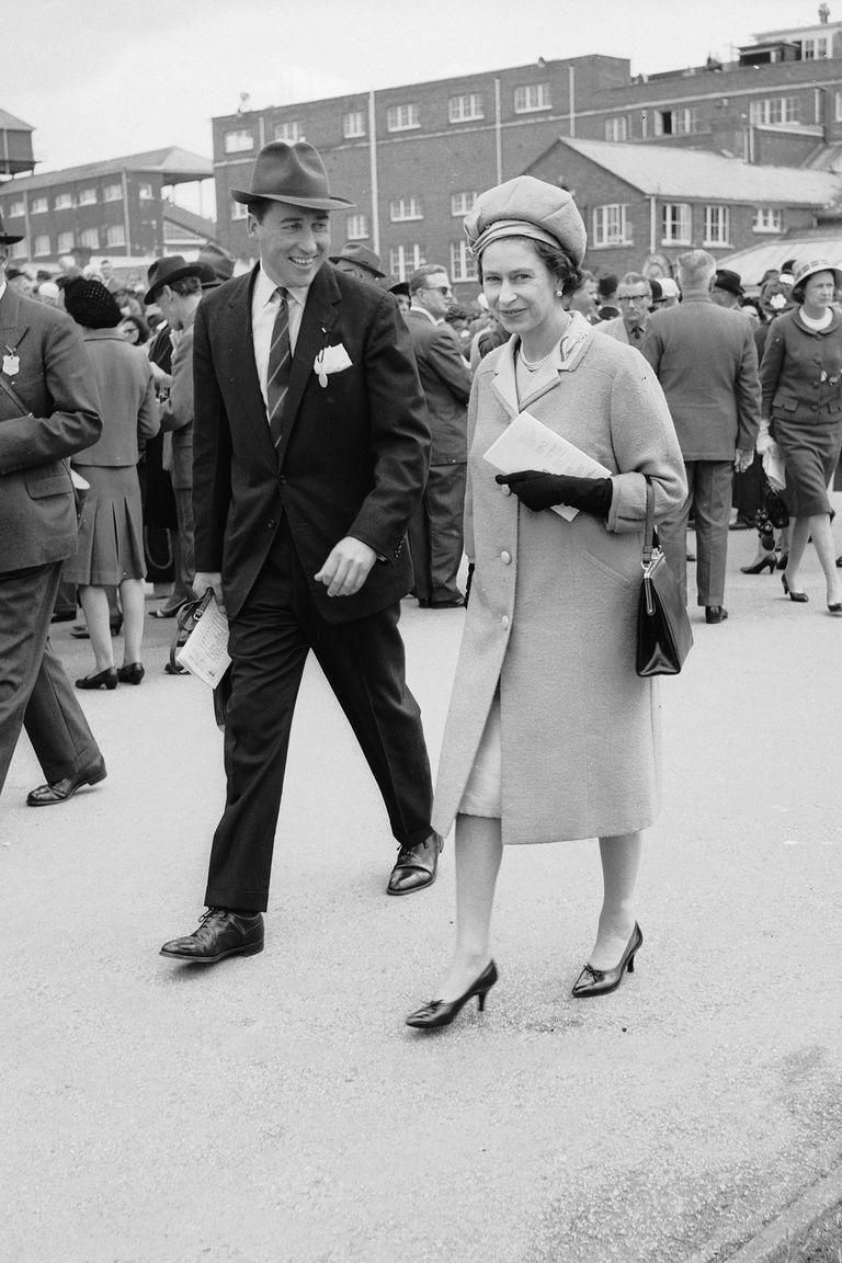 """<p>Queen Elizabeth's friendship with Lord Porchester (Porchey) caused problems for her and Philip during <em>The Crown</em>'s first season. Elizabeth and Porchie were close in real life as well, and there were even <a href=""""http://people.com/royals/the-crown-historically-accurate-netflix/"""" rel=""""nofollow noopener"""" target=""""_blank"""" data-ylk=""""slk:rumors"""" class=""""link rapid-noclick-resp"""">rumors</a> of an affair between the two—though there's no real evidence to suggest an affair ever happened.</p>"""