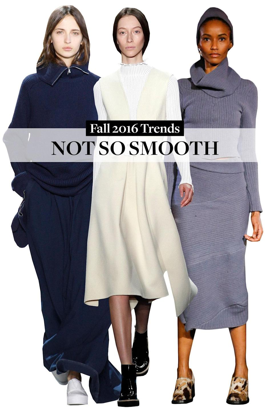 <p>Knits for fall aren't groundbreaking but this time around, they're sexier and more fitted.</p>