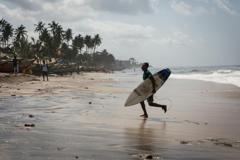Kokrobite Beach, just west of Accra, has already hosted an international surf day competition and Ghana is pinning its hopes on development of the sport as a means of boosting an under-developed tourism sector