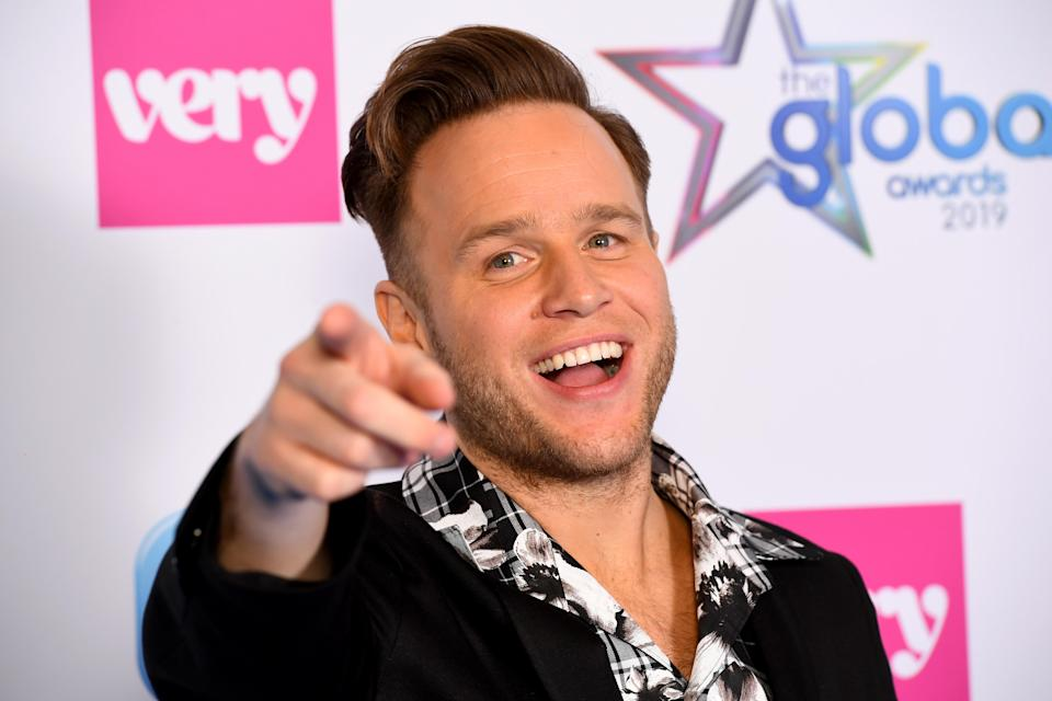 Olly Murs attends the The Global Awards with Very.co.uk at Eventim Apollo, Hammersmith on March 07, 2019 in London, England. (Photo by Dave J Hogan/Getty Images)