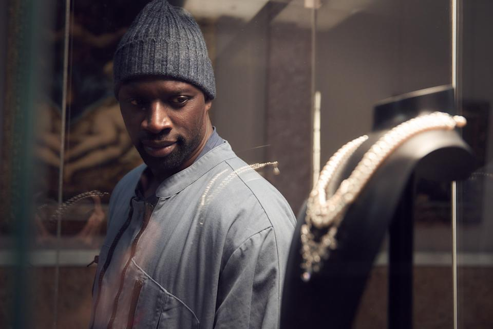 <p>Omar Sy is a charismatic lead in Lupin</p> (Netflix)