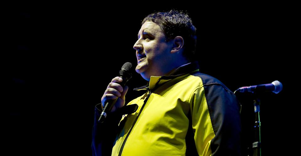Peter Kay at the 'We Are Manchester' concert in September 2017. (PA Images)