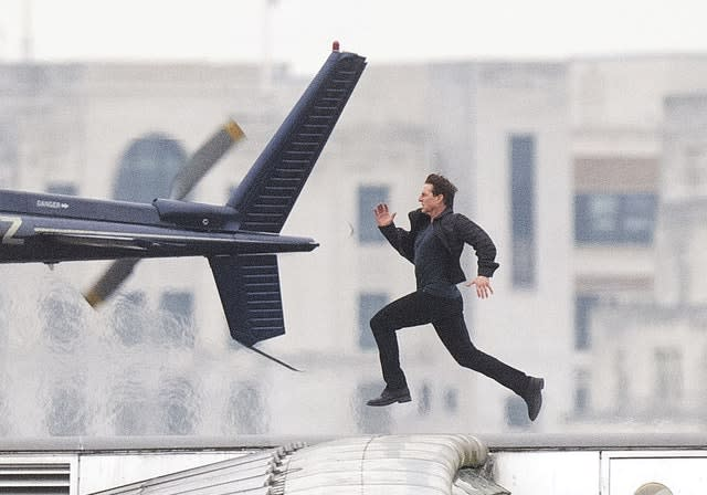 Mission Impossible 6 filming in London