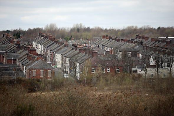 Derelict Houses In Stoke-On-Trent Up sold for £1