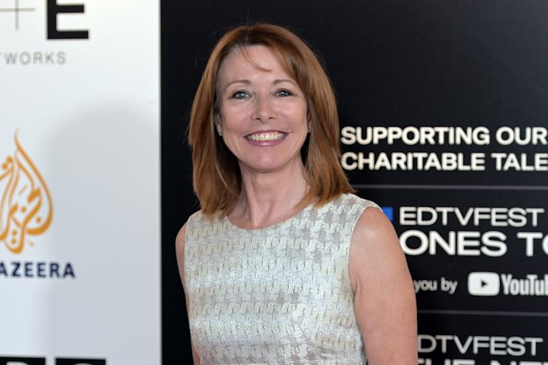 Sky News presenter Kay Burley at the Edinburgh TV Festival, on August 23, 2019 in Edinburgh, Scotland. (Photo by Ken Jack/Getty Images)
