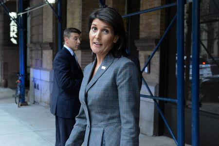 Ambassador Nikki Haley says Trump doesn't want war with North Korea