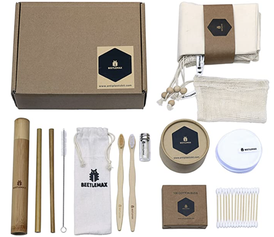 PHOTO: Amazon. Antiplastic Complete Kit a Zero Waste