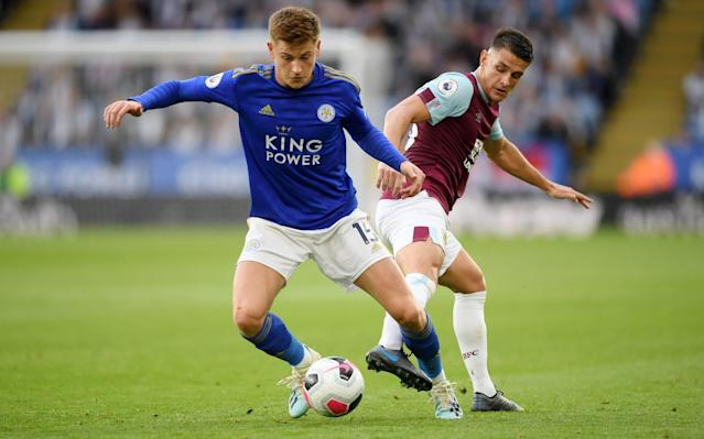 Neither Harvey Barnes nor Demarai Gray have nailed down a starting spot at Leicester - Getty Images Europe