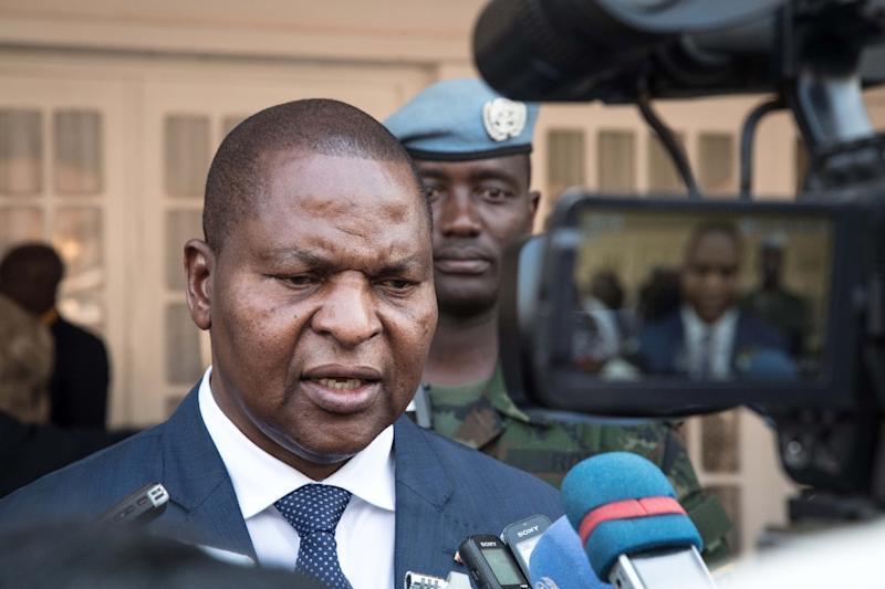 """Under the peace accord's provisions, President Faustin-Archange Touadera agreed to form an """"inclusive"""" government"""