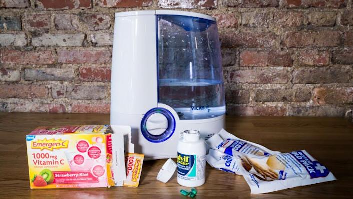 A humidifier to help ease your symptoms