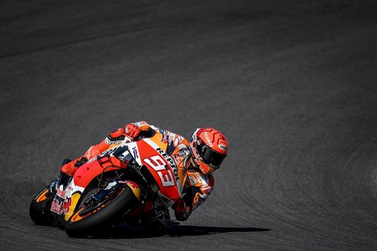 'Ready to suffer': Marc Marquez in free practice on Saturday