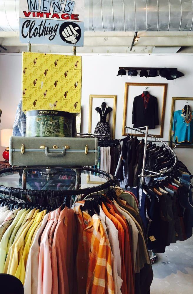 """<p>""""The shop is big, but not overwhelming. Unlike other """"vintage"""" stores, you don't have to weed through racks of crummy second-hand clothes that aren't actually vintage—every piece on the rack is amazing and in good condition,"""" <a href=""""https://www.yelp.com/biz/antique-sugar-phoenix-2"""" rel=""""nofollow noopener"""" target=""""_blank"""" data-ylk=""""slk:Brianna C"""" class=""""link rapid-noclick-resp"""">Brianna C</a>.</p><p><strong>Visit the store</strong>: 801 N 2nd St, Ste 104, Phoenix, AZ</p>"""