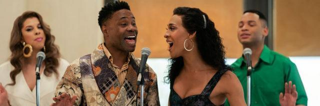 """Billy Porter and MJ Rodriguez sing during a scene in """"POSE."""""""