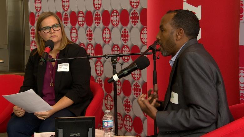 CBC hosts fiery town hall on asylum seekers in Canada