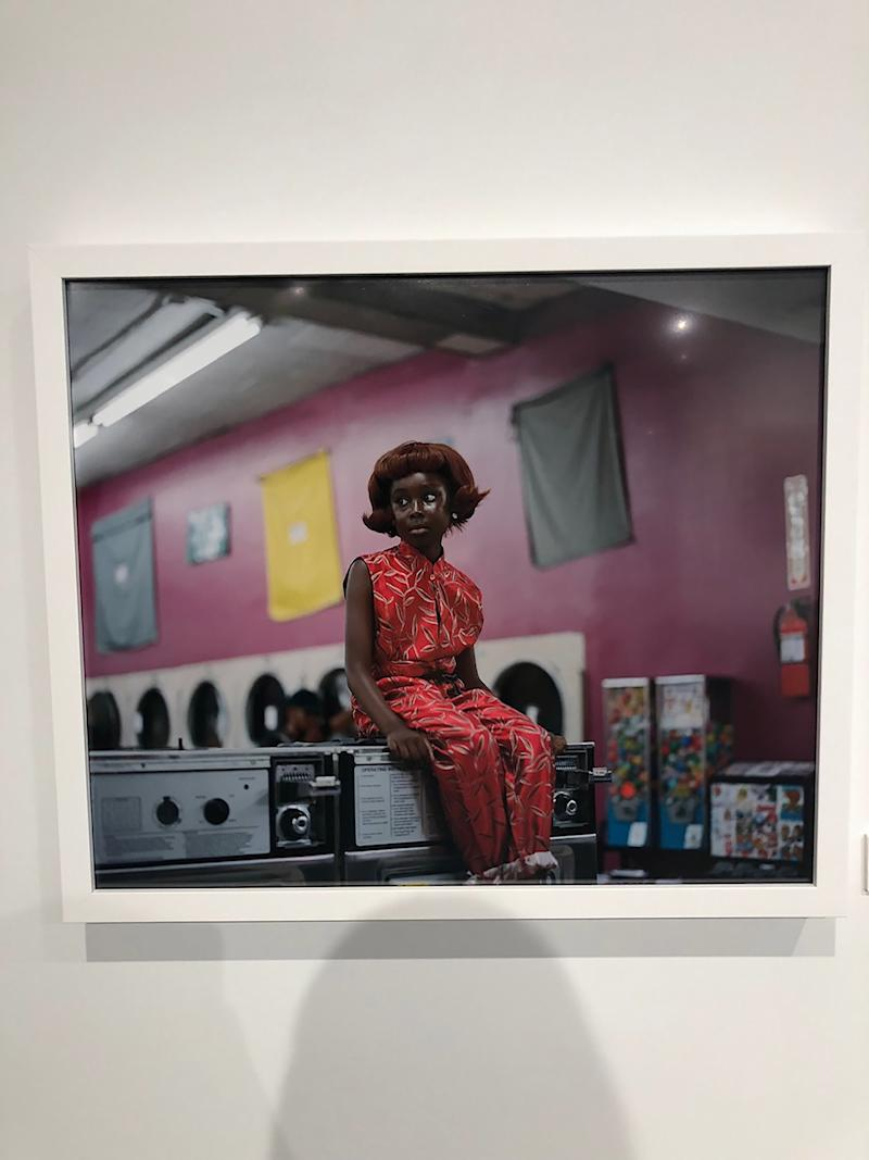 Finished off my last few minutes in New York before I jumped on the plane️ by visiting a beautiful photo exhibition, Peluca, by the amazing Renell Medrano at Milk Studios. Her photos are spectacular, and wow, what a beautifully curated set of works! If you're in New York, you definitely need to stop by and see it!