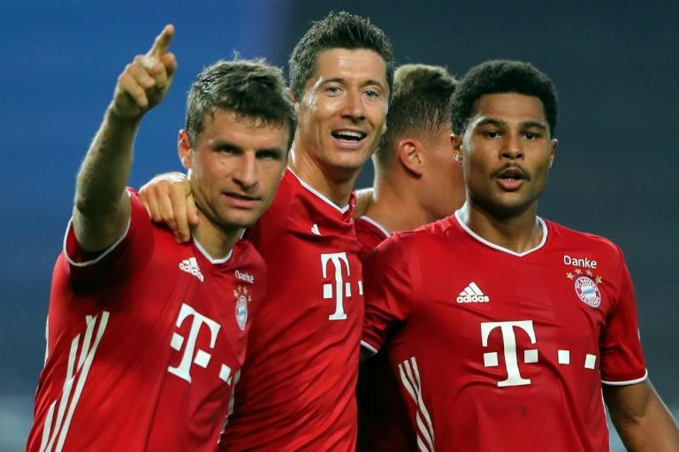 Gnabry and Lewandowski fire ruthless Bayern into Champions League final
