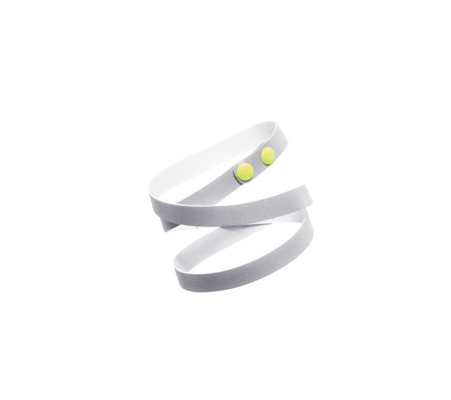 """<p>A little accessory with a big purpose! This fun bracelet will help keep a road runner visible at night — and adds extra flair to a leggings-tank-jacket combo.<br></p><p>$20 at <a href=""""http://www.brooksrunning.com/en_us/bolt-reflective-bracelet/280324.html"""" rel=""""nofollow noopener"""" target=""""_blank"""" data-ylk=""""slk:Brooks"""" class=""""link rapid-noclick-resp"""">Brooks</a></p>"""