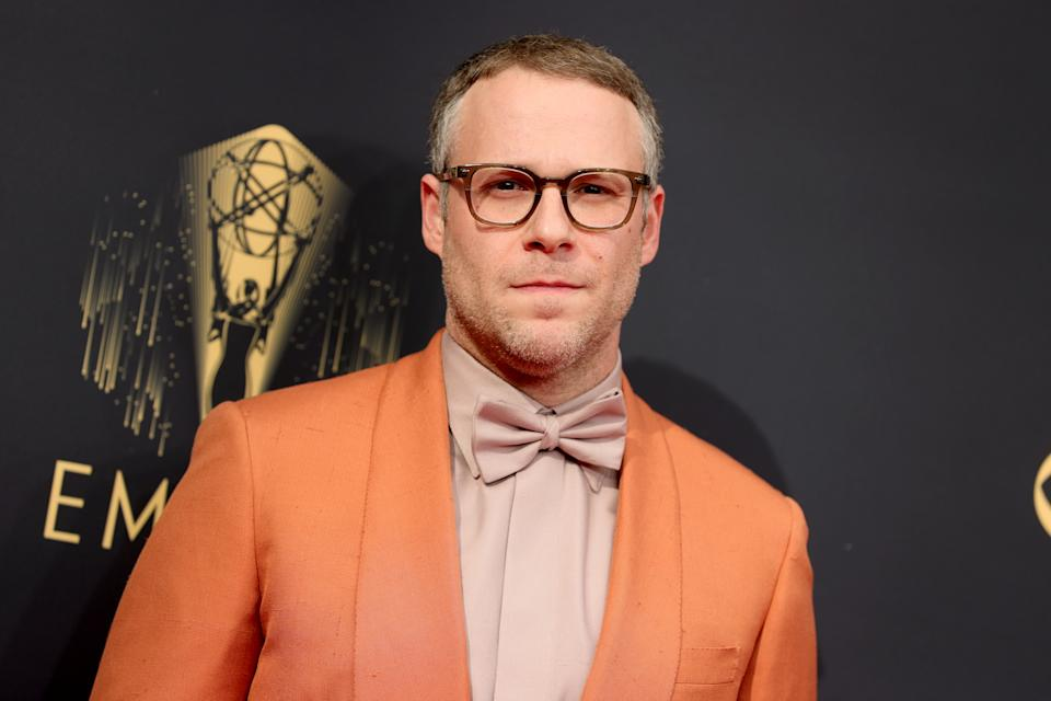 Seth Rogen looked 'unrecognizable' at the 2021 Emmy Awards.