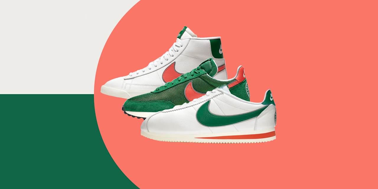 <p>The standout of this week's sneaker releases is a collaboration with a television show, which isn't exactly the norm. But Season Three of <em>Stranger Things</em> is almost here—mark your calendar for July 4—and Nike is teaming up with the Netflix hit in a big way. A trio of '80s-inspired Nike sneakers is debuting in Hawkins High green and orange, and the only question is whether you're more into the Cortez, the Blazer, or the Tailwind. But there's a lot more to be had, too. Under Armour's back at it with The Rock; Adidas is teaming up with L.A.-based Bristol Studio, plus dropping another Yeezy Boost 700; and there's even a new brand on the scene, the eco-friendly operation Nothing New. Keep reading to see everything.<br></p>