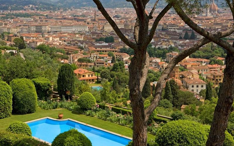 Torre di Bellosguardo is a Renaissance villa set in the hills of Florence