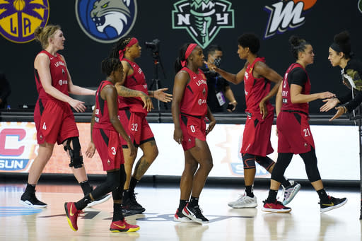 McCoughtry scores 29, Aces beat Sun 84-75 to force Game 5