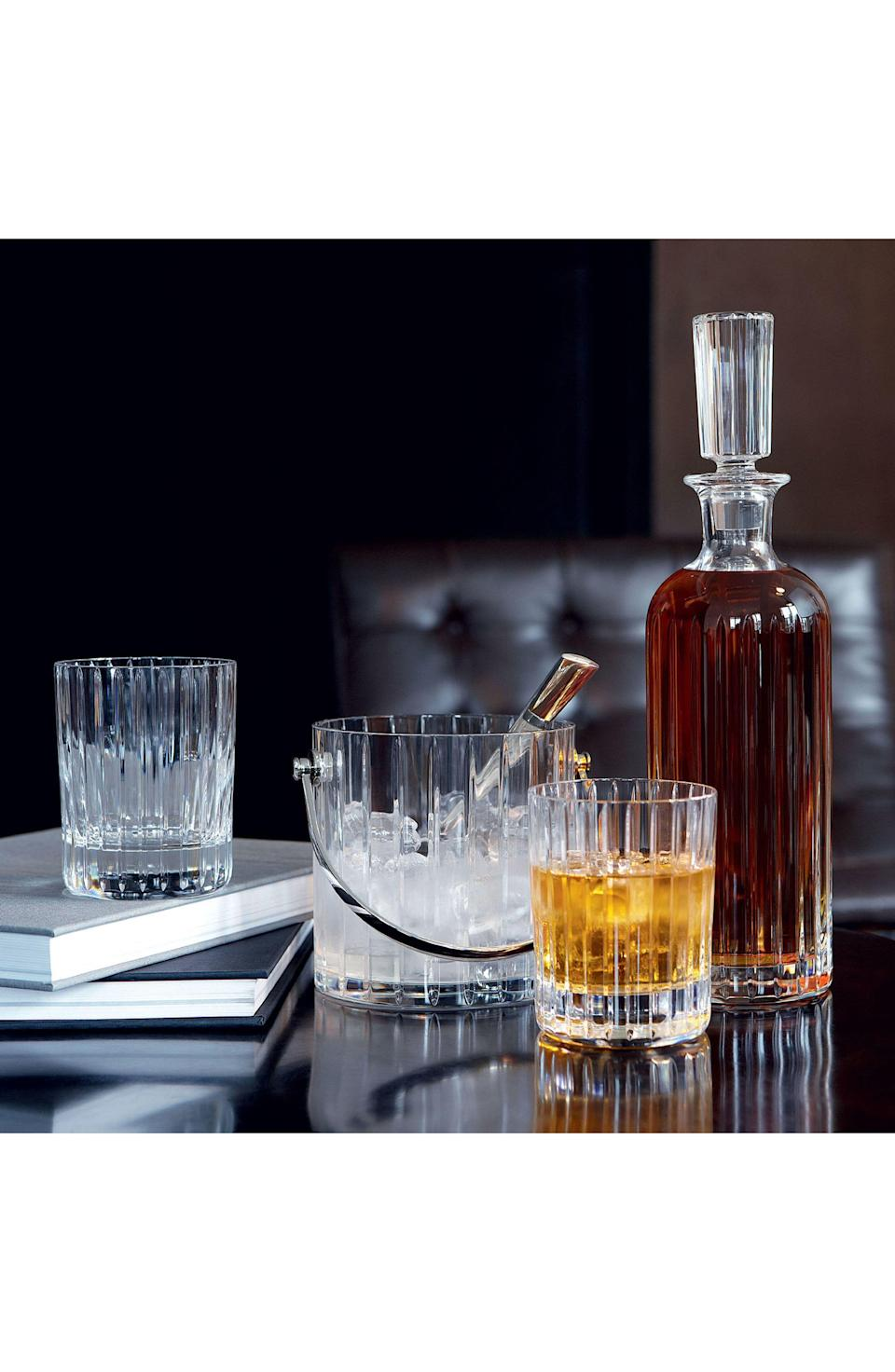 """<p><strong>Baccarat</strong></p><p>nordstrom.com</p><p><strong>$280.00</strong></p><p><a href=""""https://go.redirectingat.com?id=74968X1596630&url=https%3A%2F%2Fshop.nordstrom.com%2Fs%2Fbaccarat-harmonie-2-set-of-2-lead-crystal-tumblers%2F5054891&sref=https%3A%2F%2Fwww.veranda.com%2Fshopping%2Fhome-accessories%2Fg34671332%2Fgifts-for-foodies%2F"""" rel=""""nofollow noopener"""" target=""""_blank"""" data-ylk=""""slk:Shop Now"""" class=""""link rapid-noclick-resp"""">Shop Now</a></p><p>Their enviable bourbon collection deserves the right glassware. Baccarat's crystal tumblers are timeless, iconic, and perfect for the spirits enthusiast. </p>"""