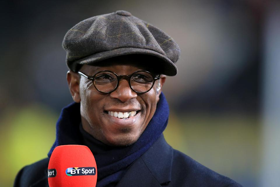 Ian Wright now works as a sports pundit. (PA)