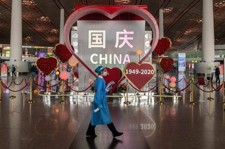 The Golden Week holiday marks the founding of the People's Republic of China in 1949 and sees an astonishing annual movement of people trying to get home or take holidays