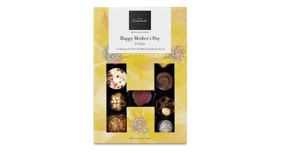 Hotel Chocolat's Happy Mother's Day H-box