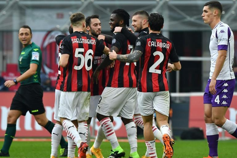 AC Milan pulled five points clear in Serie A