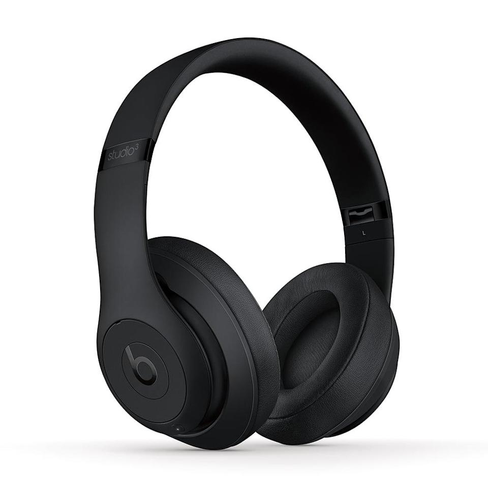 <p>You can't go wrong with gifting the top-rated <span>Beats Studio3 Wireless Over-Ear Noise Cancelling Headphones in Matte Black</span> ($229). </p>