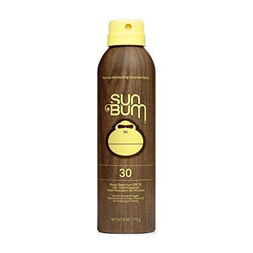 "<p><strong>Sun Bum</strong></p><p>amazon.com</p><p><strong>$14.27</strong></p><p><a href=""https://www.amazon.com/dp/B004XGLE7K?tag=syn-yahoo-20&ascsubtag=%5Bartid%7C2089.g.36107013%5Bsrc%7Cyahoo-us"" rel=""nofollow noopener"" target=""_blank"" data-ylk=""slk:Shop Now"" class=""link rapid-noclick-resp"">Shop Now</a></p><p>Sun Bum's essential Moisturizing Sunscreen Spray is mess-free, and it absolutely needs a permanent home in your beach tote this summer. Infused with nourishing vitamin E, this ultra sheer spray applies effortlessly as it protects <em>and</em> nourishes your skin. </p>"