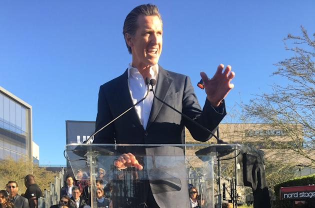 Governor Gavin Newsom Issues State-Wide Stay At Home Order