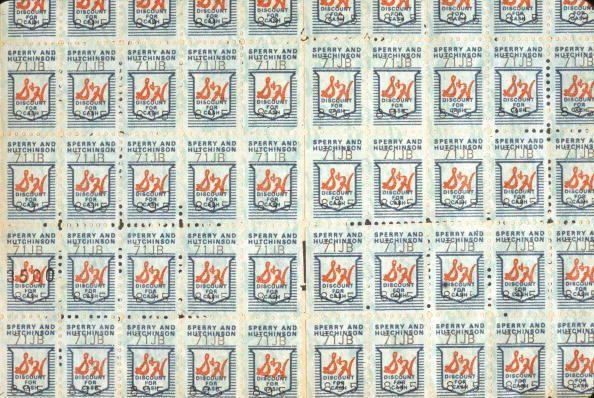 <p>Deciding what to do with a book of S&H Green Stamps was a major decision. A new set of dishes? A toy guitar? The S&H catalog was a treasure trove of options. </p>