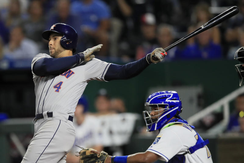 Cole wins 17th, Springer's HR lifts Astros over Royals 4-1