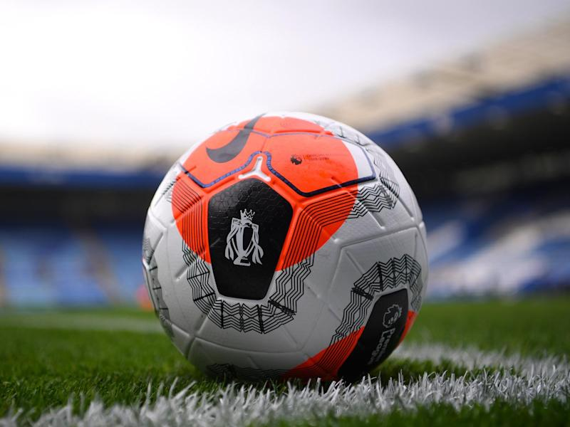 Closeup view of Premier League football: Getty Images