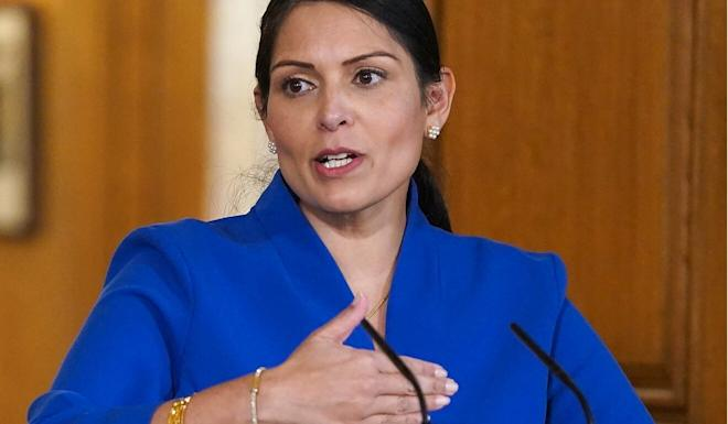 "British Home Secretary Priti Patel described the offer as ""a very generous one"". Photo: AFP"