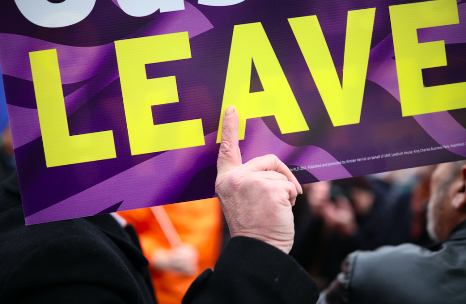<em>A no-deal Brexit looks more and more likely by the day (Getty)</em>