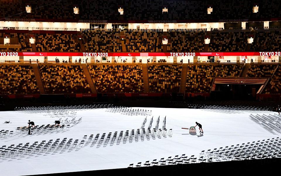paralympics opening ceremony 2021 live updates toyko 2020 - GETTY IMAGES